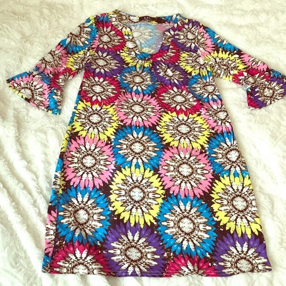 ABC Dresses & Skirts - ABC Dress Flower Print Size: medium